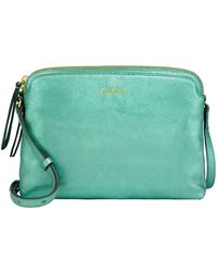 Cath Kidston - Leather Duo Cross Body Bag - Lyst