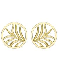 Theo Fennell - Large Palm Diamond Disc Earrings - Lyst