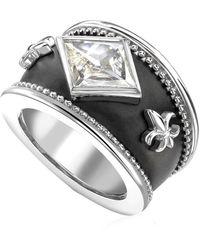 Theo Fennell - Kite Diamond Bombé Ring - Lyst