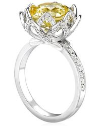 Theo Fennell | Water Lily Ring | Lyst