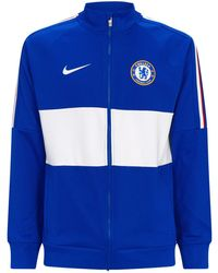 10185532a Nike Chelsea Fc Anthem Men's Football Jacket in Blue for Men - Lyst
