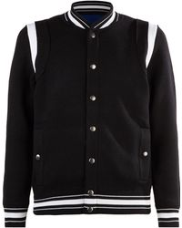 Givenchy - Bomber Knit Cardigan - Lyst