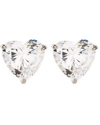 Carat* - Hearts For You Stud Earrings - Lyst