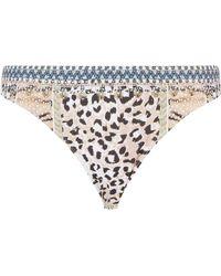Camilla - Moto Maiko Bikini Bottom - Lyst