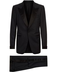 Tom Ford - Shelton Satin Trim Two-piece Suit - Lyst