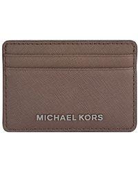 MICHAEL Michael Kors   Jet Set Travel Card Holder   Lyst