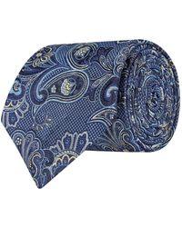 Eton of Sweden   Enlarged Paisley Tie, Beige, One Size   Lyst