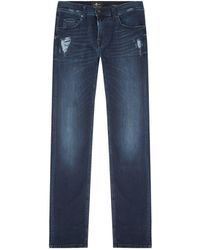 7 For All Mankind - Kayden Luxe Performance Slim Jeans - Lyst