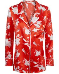 Alice + Olivia - Keir Pyjama Style Shirt - Lyst