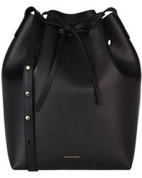 Mansur Gavriel - Leather Bucket Bag - Lyst