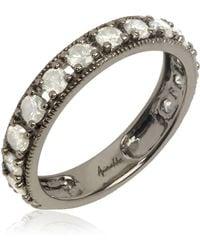 Annoushka - White Gold Dusty Diamonds Eternity Ring - Lyst