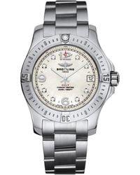 Breitling - Stainless Steel Colt Quartz Watch 36mm - Lyst