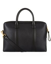 Tom Ford - Buckley Grained Leather Briefcase - Lyst