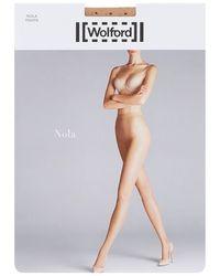 Wolford - Nola Polka Dot Tights - Lyst