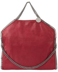 Stella McCartney - Falabella Fold Over Tote Bag - Lyst