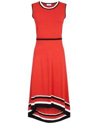 f9d74ec1ce66 Claudie Pierlot - Asymmetric Knit Dress - Lyst