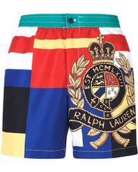 Polo Ralph Lauren - Classic Crest Swim Shorts - Lyst
