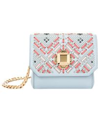 Elie Saab - Mini Embellished Shoulder Bag - Lyst