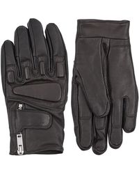 Sandro - Race Leather Gloves - Lyst