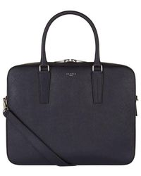 Sandro - Downtown Leather Briefcase - Lyst