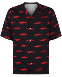 McQ - Billy Car Print Shirt - Lyst