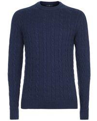 Henri Lloyd - Crew Neck Knit Sweater - Lyst