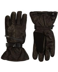 Spyder - Ultraweb Leather Ski Gloves - Lyst
