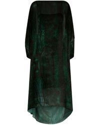Akris - Devor Velvet Kaftan Dress - Lyst
