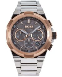 BOSS Black - Supernova Chronograph Watch - Lyst