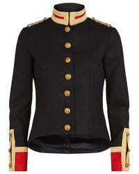 Denim & Supply Ralph Lauren - Officer Wool-blend Military Blazer - Lyst