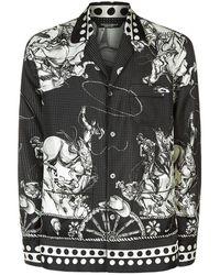 Dolce & Gabbana - Old West Print Pyjama Shirt - Lyst