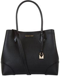 MICHAEL Michael Kors - Mercer Gallery Leather Tote Bag - Lyst