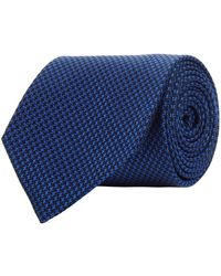 Turnbull & Asser - Woven Puppy Tooth Tie - Lyst