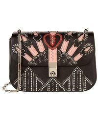 Valentino - Small Embellished Love Blade Shoulder Bag - Lyst