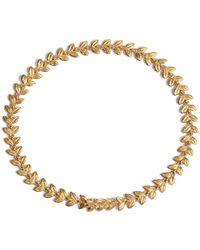 Annoushka   Yellow Gold Vine Bracelet   Lyst