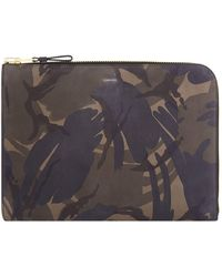 Tom Ford - Leather Camouflage Printed Portfolio - Lyst