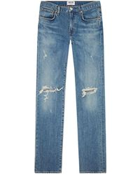 Agolde - Skinny Hitch Blade Jeans - Lyst