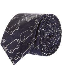Thom Browne - Animal Embroidered Silk Tie - Lyst