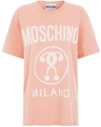 Moschino - Question Mark Logo T-shirt - Lyst
