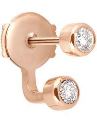 Vanrycke - Mademoiselle Double Diamond Earring - Lyst