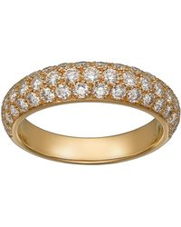 Cartier - Yellow Gold And Diamond Tincelle De Ring - Lyst