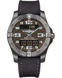 Breitling - Titanium Professional Aerospace Evo Watch 43mm - Lyst