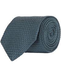 Turnbull & Asser - Textured Silk Tie - Lyst