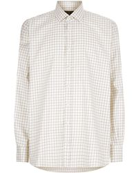James Purdey & Sons - Tattersall Check Print Shirt - Lyst