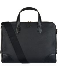 Paul Smith - Embossed Leather Briefcase - Lyst