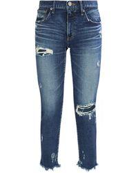 Moussy - Ridgewood Comfort Skinny Jeans - Lyst