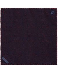 Corneliani - Wool Printed Pocket Square - Lyst