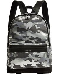 bebe7ceedf9f Michael Kors Kent Camouflage Cycling Backpack for Men - Lyst