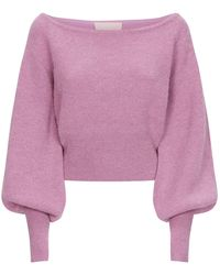 Keepsake - Like This Off-the-shoulder Sweater - Lyst