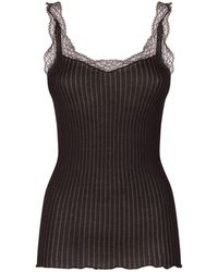 Zimmerli - Ribbed Tank Top - Lyst